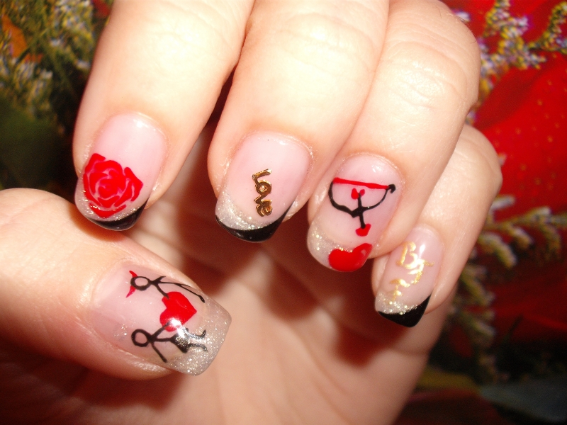 Outstanding Valentine's Day Nail Designs 800 x 600 · 337 kB · jpeg
