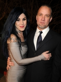 Kat Von D and Jesse James are Engaged
