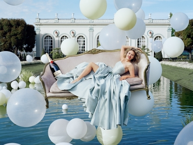 Scarlett Johansson for New Moet & Chandon Ad Campaign