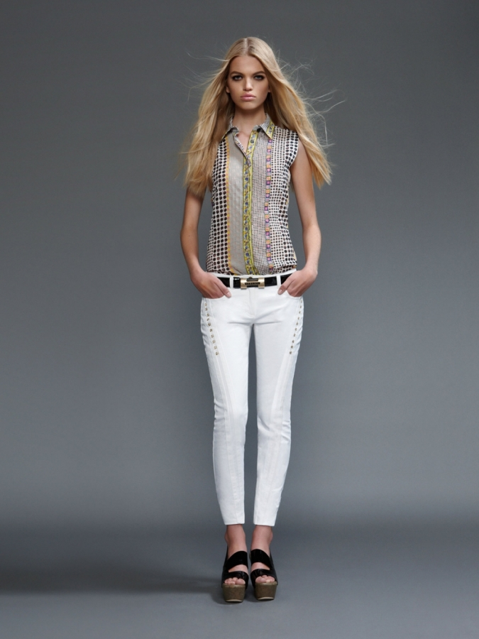Versace Spring Summer 2011 Lookbook