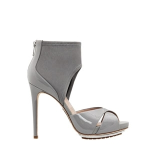 Alejandro Ingelmo Allegria Grey Pumps