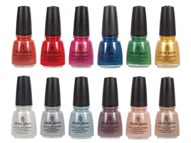 China Glaze Anchors Away Spring 2011 Nail Polishes