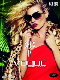 Kate Moss for Vogue Eyewear Spring/Summer 2011