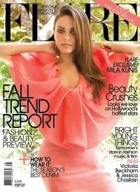 Mila Kunis Covers 'Flare' August 2011