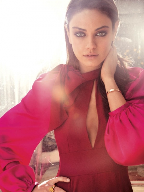 Mila Kunis Covers Flare August 2011