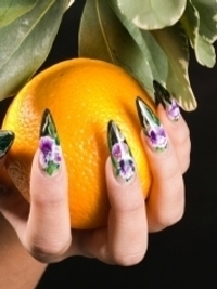 Ultra-Glam Nail Art Ideas