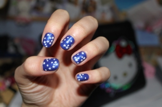 Star Nail Art Idea