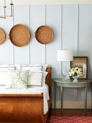 Wall Decoration with Baskets