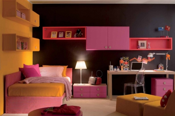 Colorful Teen Room