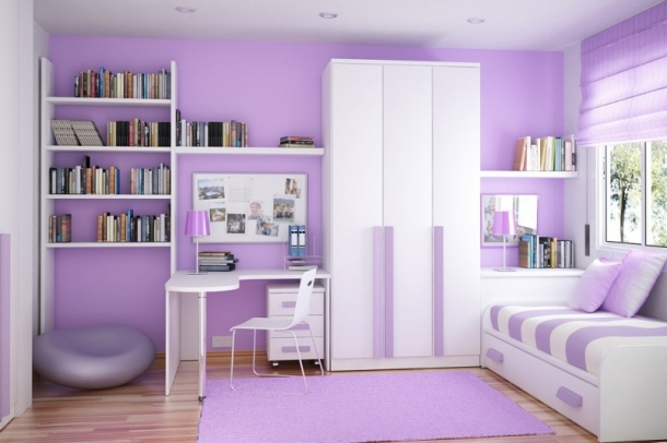 Purple Teen Room