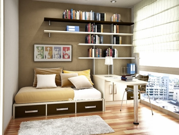 Modern Teen Room Idea