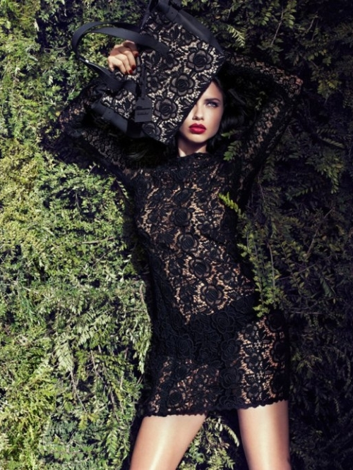 Adriana Lima for Blumarine Fall 2011 Campaign