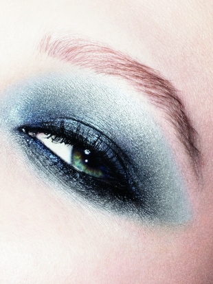 Dior Fall 2011 Blue Tie Makeup Collection