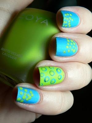Flirty And Easy To Do Nail Art Designs