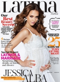 Jessica Alba Covers 'Latina' August 2011