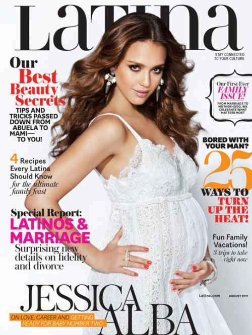 Jessica Alba Covers Latina August 2011