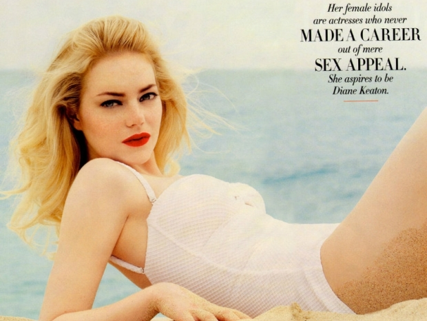 Emma Stone Covers Vanity Fair August 2011