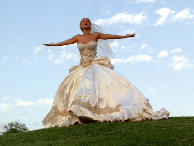 Beyonce Bridal Gown in Music Video