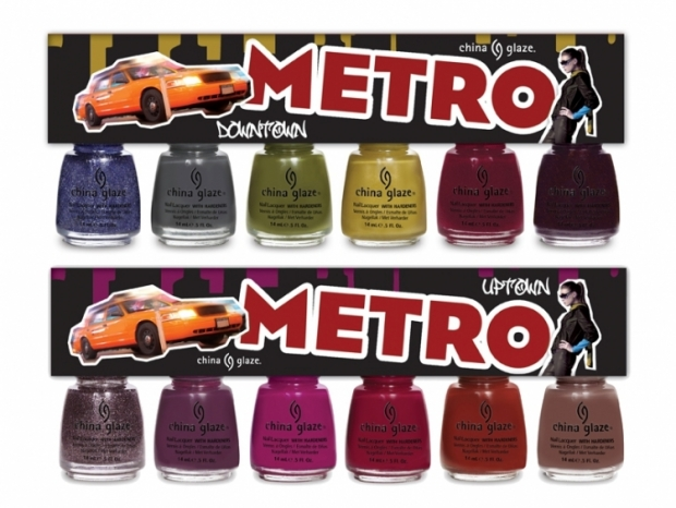 China Glaze Metro Fall 2011 Nail Polish Collection