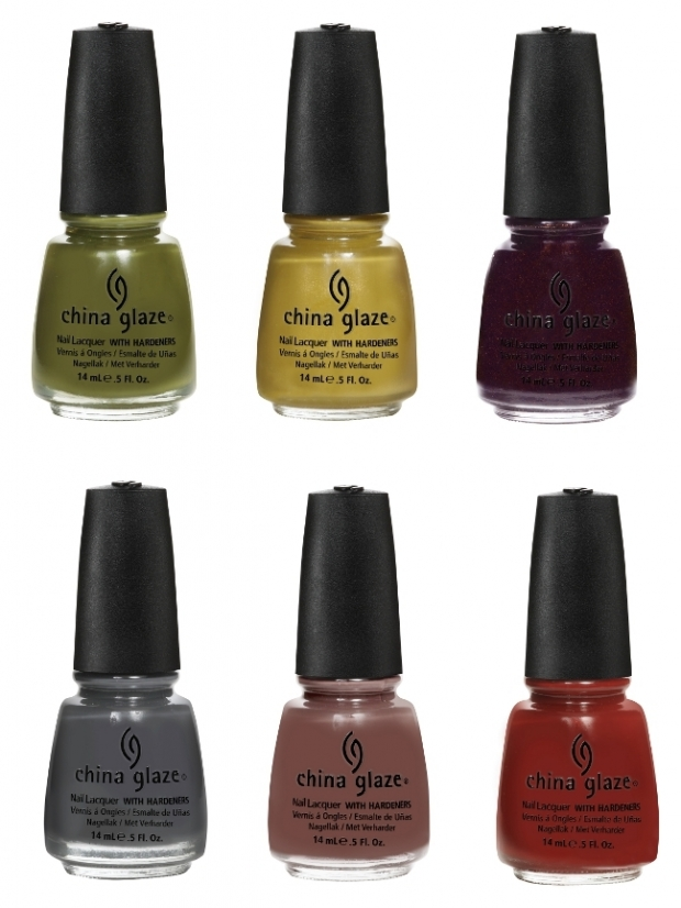 China Glaze Fall 2011 Nail Polish Collection