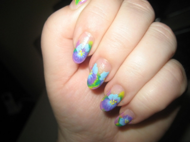 Fun Summery Nail Art Designs