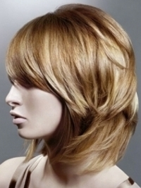 Swingy Shoulder Length Layered Hairstyles