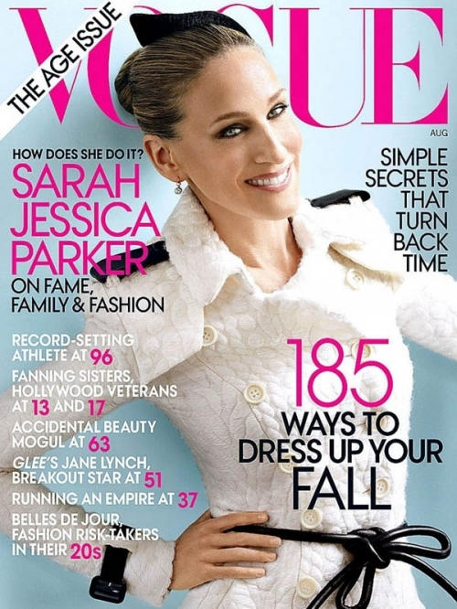 Sarah Jessica Parker Covers Vogue 2011