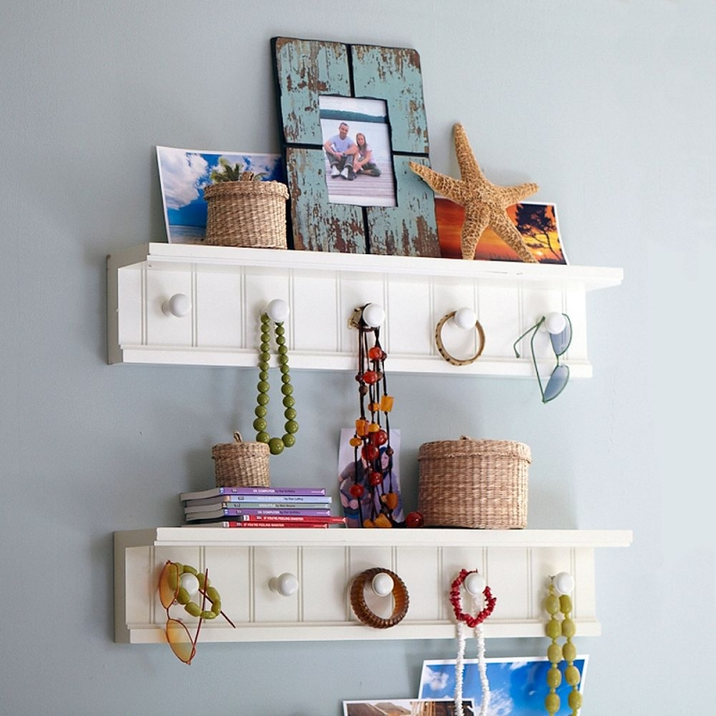 Decorating Wall Shelves Tips : Easy wall decoration ideas for teen rooms
