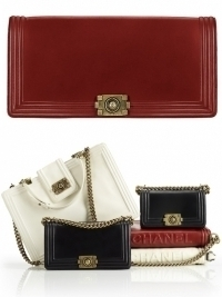 Chanel 'Boy' Bag Collection Fall/Winter 2011-2012