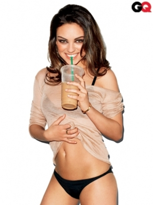 Mila Kunis Goes Sexy for GQ August 2011