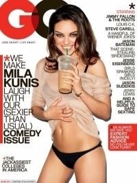 Mila Kunis Goes Sexy for 'GQ' August 2011