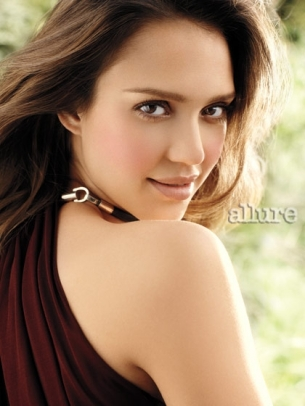 Jessica Alba Covers Allure August 2011