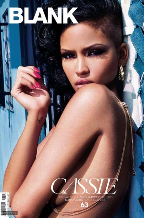 Cassie Covers Blank Magazine July 2011