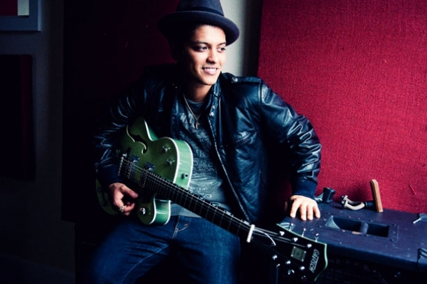 Bruno Mars Covers Billboard Magazine