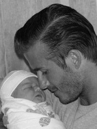 The Beckhams Introduce Baby Harper Seven