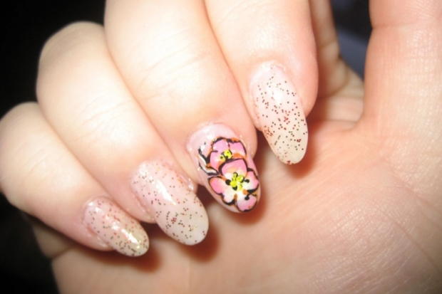 All Glam Nail Art Designs
