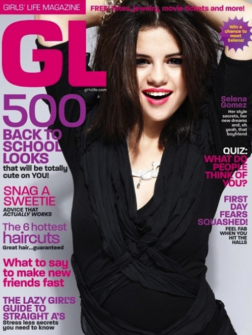 Selena Gomez Covers Girl
