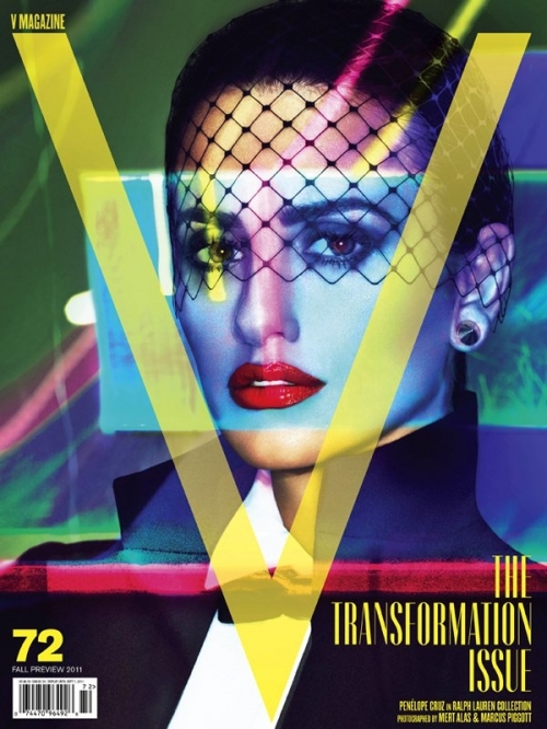 Penélope Cruz Covers V Magazine