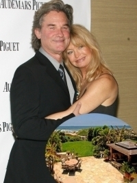Goldie Hawn and Kurt Russell Malibu Home