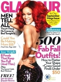Rihanna Covers Glamour September 2011 Issue