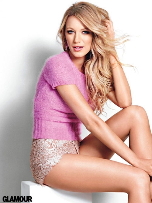 Blake Lively Covers Glamour July 2011