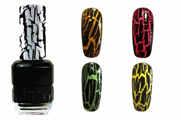 Duri Black Widow Crackle Nail Polish