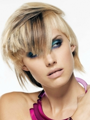 Blonde Hair With Black Highlights