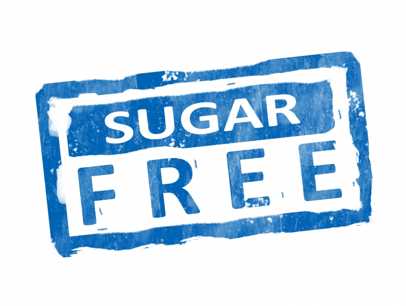 """I believe this was proven to be photoshopped.   Google search for  """"sugar free label"""""""