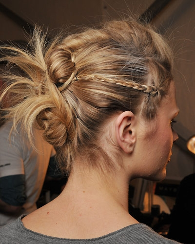Easy Party Updo Hairstyles