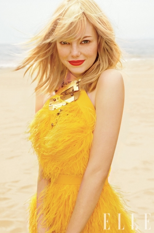 Emma Stone Covers Elle July 2011