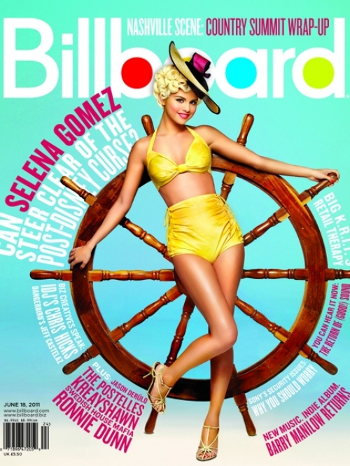 Selena Gomez Covers Billboard