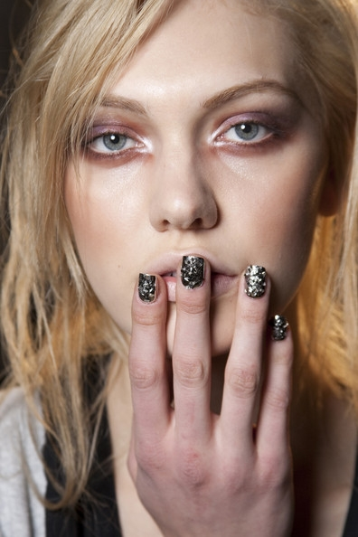 Metallic Nail Art Ideas