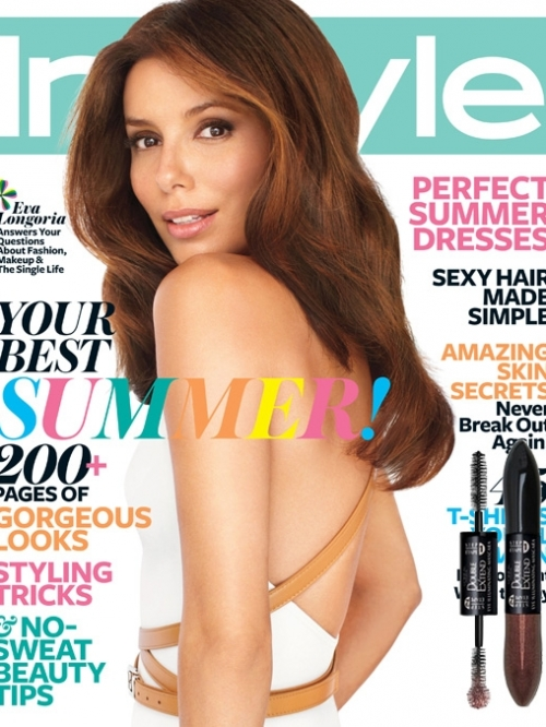 Eva Longoria Covers InStyle July 2011