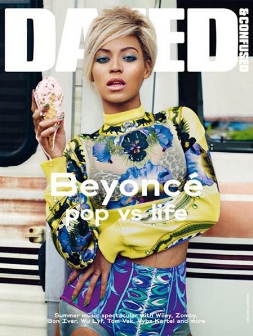 Beyoncé Covers Dazed & Confused July 2011